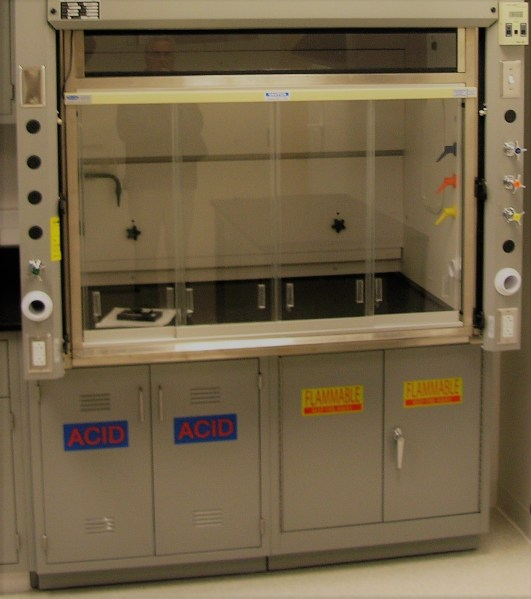 Acid Bench Top Fume Hood
