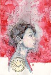 Jessica Jones #8, copertina di David Mack