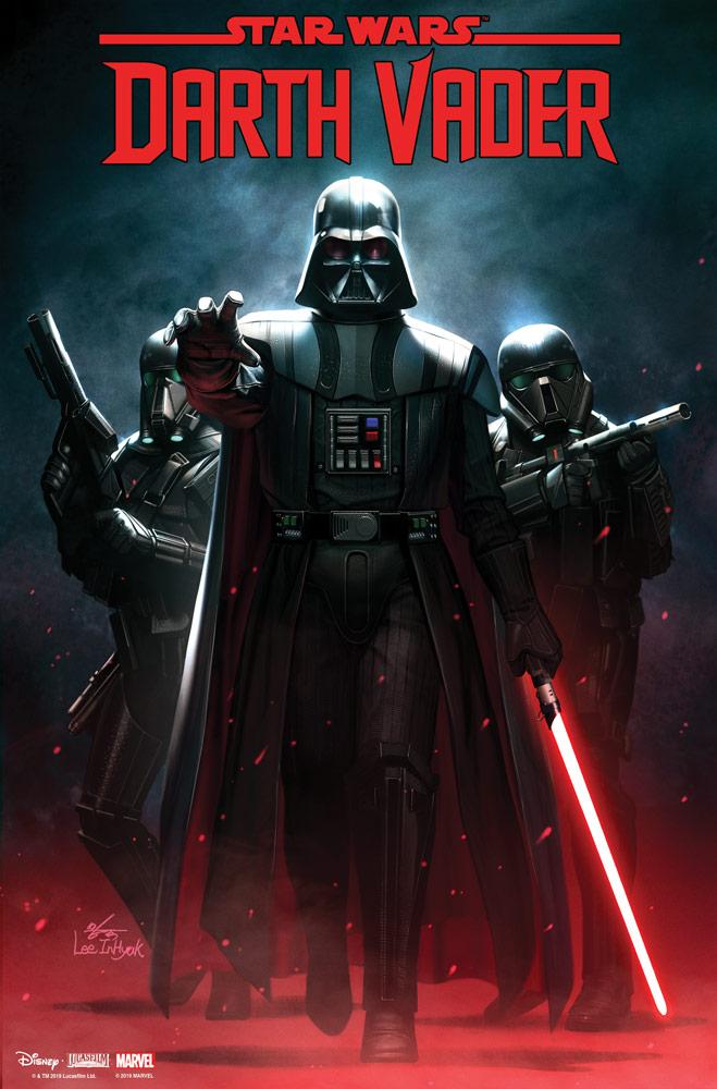 Darth Vader #1, copertina di InHyuk Lee