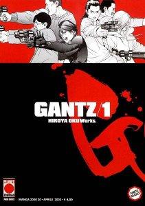 Gantz 1, copertina di Hiroya Oku