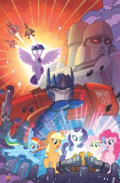My Little Pony/Transformers, variant cover