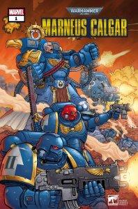 Warhammer 40.000: Marneus Calgar #1, copertina di Jacen Burrows
