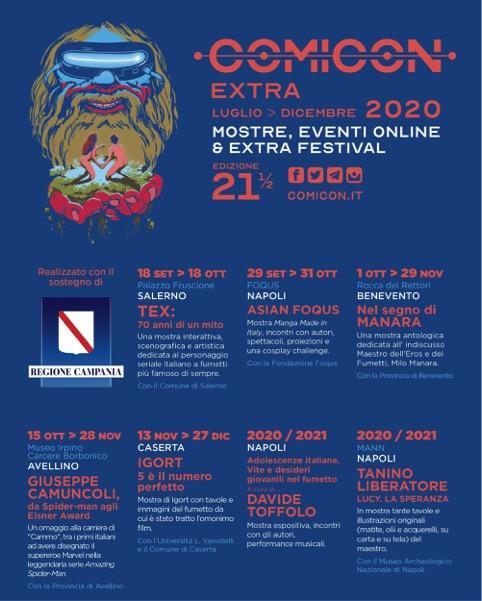 Comicon 2020, il programma