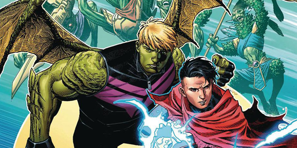 Hulkling e Wiccan
