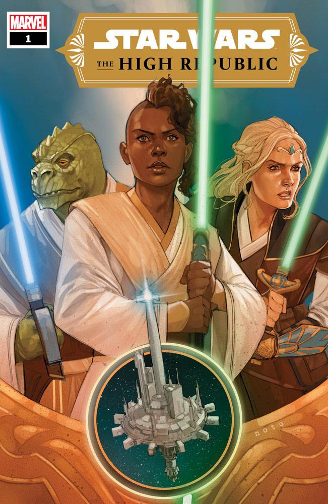 Star Wars: The High Republic #1, copertina di Phil Noto