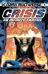 Tales from the Dark Multiverse: Crisis on Infinite Earths #1, copertina di David Marquez