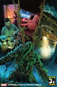 Avengers: Curse of the Man-Thing 1, variant cover di Chris Sprouse