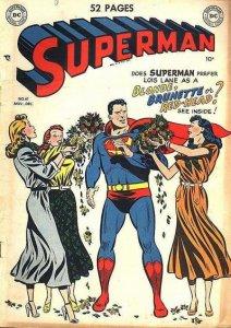 Superman #61, copertina
