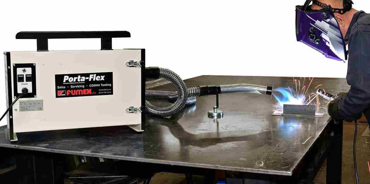 weld fume extraction exhaust extraction
