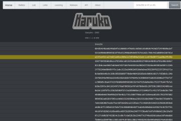 Haruko Malware Tracker – 1 Year Anniversary Update