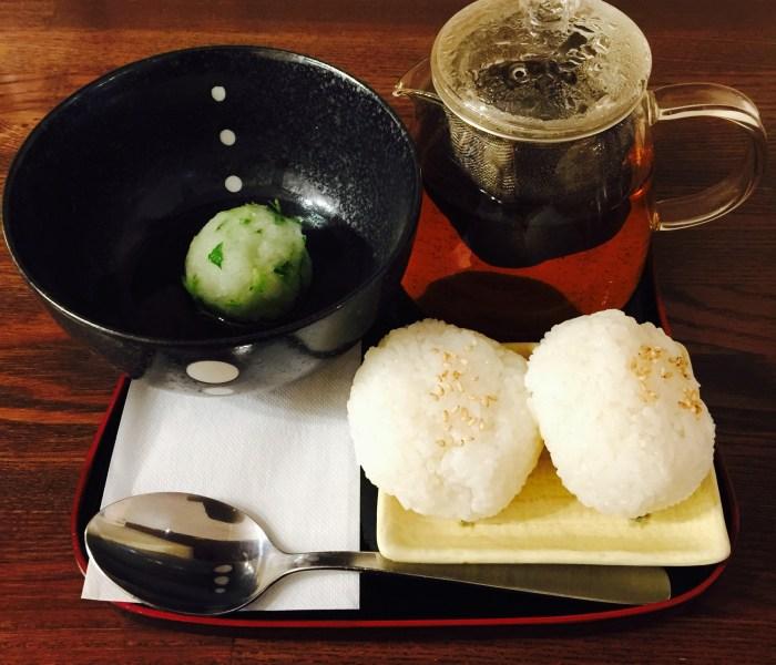 雪中椀(大根の出汁茶漬け)
