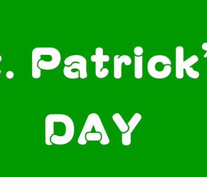 3/17(土曜)、「st.パトリック's DAY」サービスを開催します!