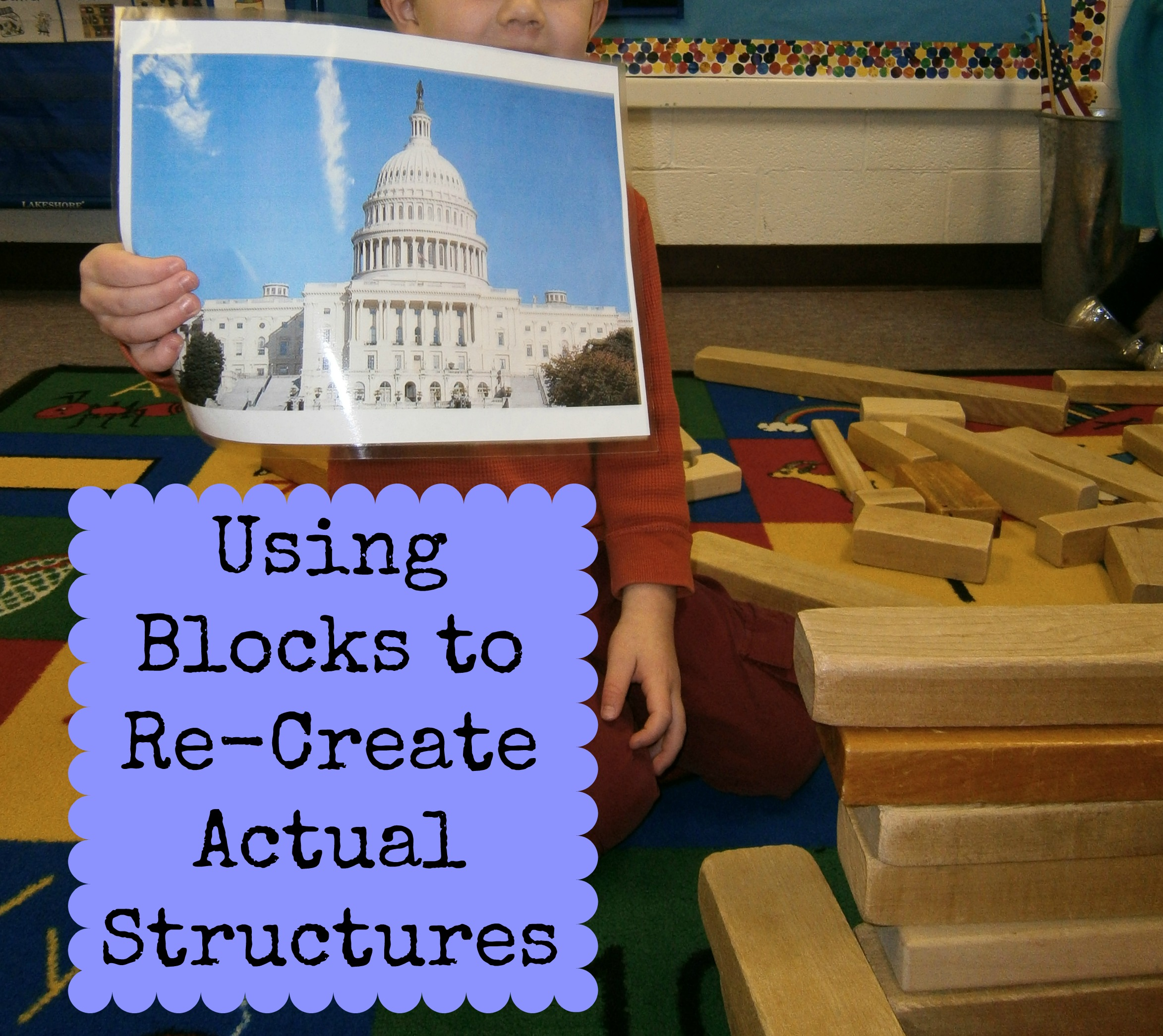 Recreating Real Structures With Blocks