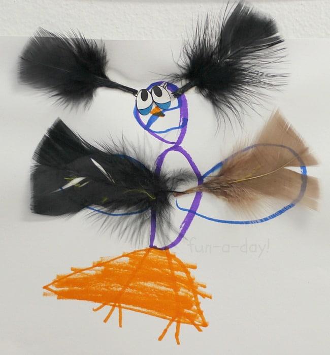 Bird Craft For Kids Easy Open Ended Art