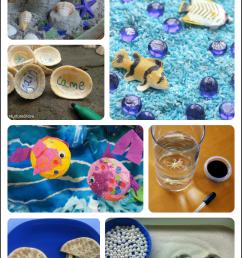 30+ Fantastic Activities for a Preschool Ocean Theme   Fun-A-Day! [ 1197 x 714 Pixel ]