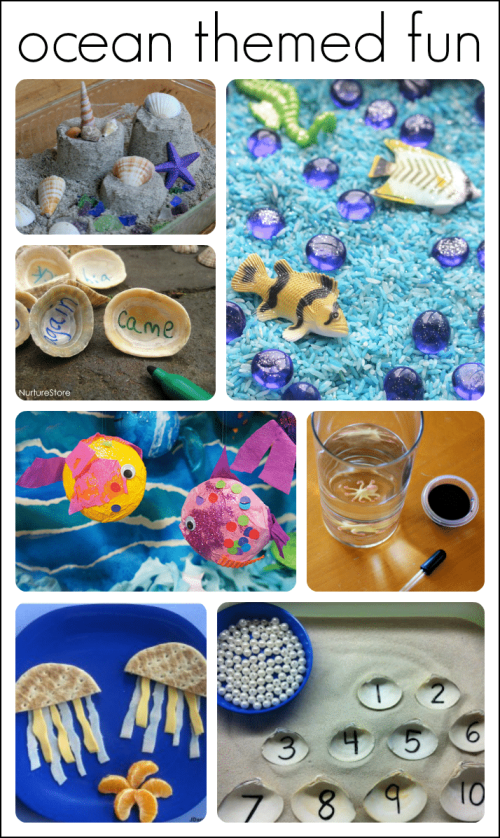 small resolution of 30+ Fantastic Activities for a Preschool Ocean Theme   Fun-A-Day!