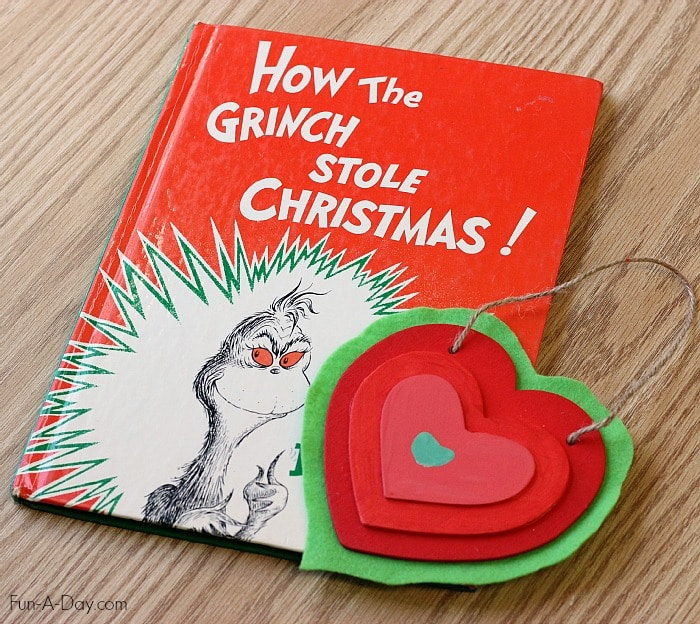 The Grinchs Heart Homemade Christmas Ornament