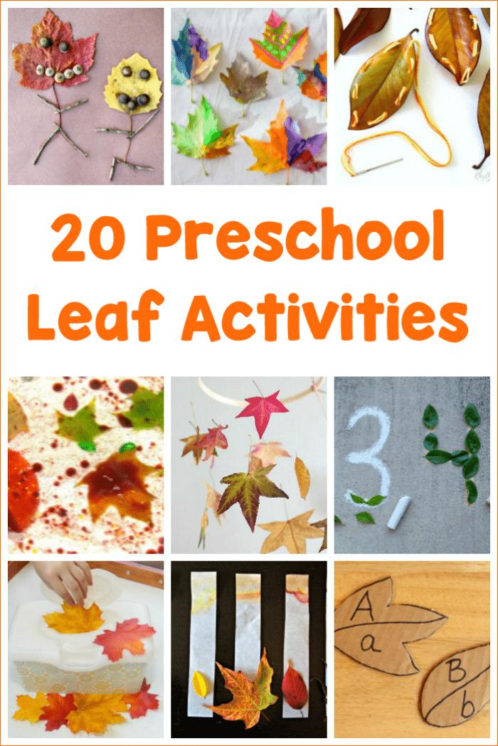 here are 20 preschool