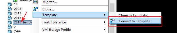 Как развернуть виртуальную машину vmware из шаблона.