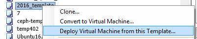 Как развернуть виртуальную машину vmware из шаблона