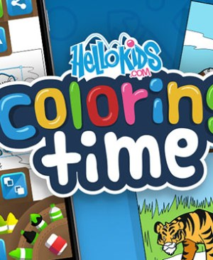 hellokids coloring time