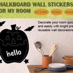 Chalkboard Stickers (H)