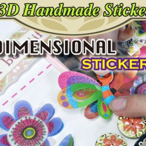 3D Dimensional Stickers