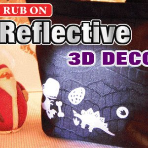 Reflective Rub-On
