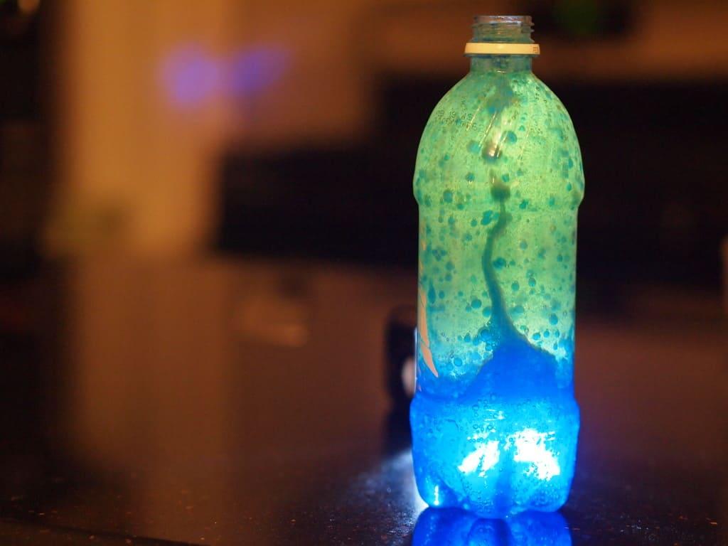 Lava lamp overnight - Lava Lamp Next Add A Few Drops Of Food Colouring