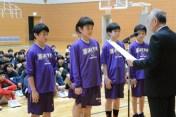 男子優勝の小千谷スーパーソニックス