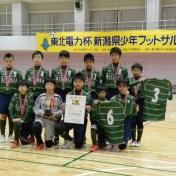 準優勝のFC.ARTISTA U-12