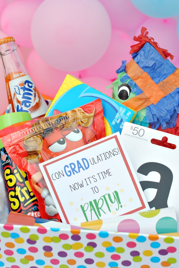 DIY Graduation Basket