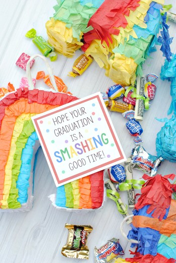 Mini Piñata Graduation Gift Idea