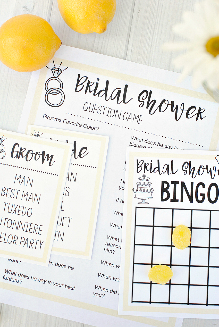 picture regarding Bridal Games Printable named Free of charge Printable Bridal Shower Video games Enjoyable-Squared