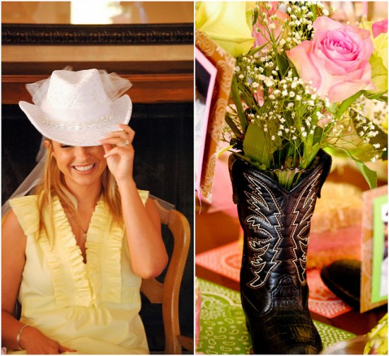 Cowgirl Bridal Shower Theme