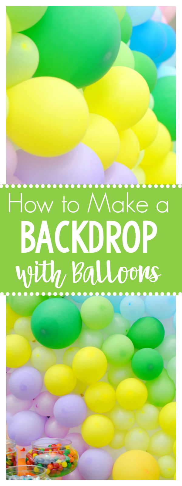 How to Make a Backdrop with Balloons for Your Next Party