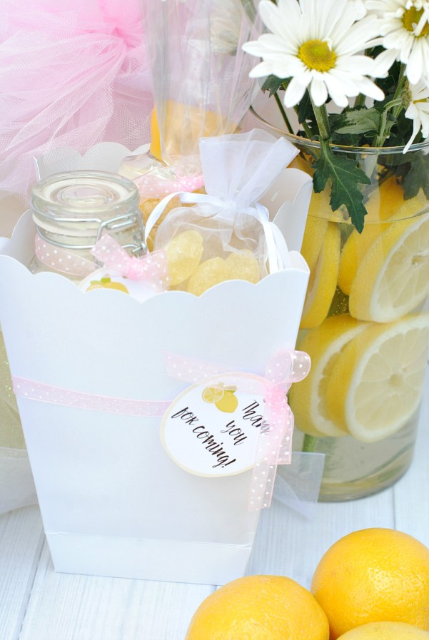 Lemon Gift Bridal Party Favor