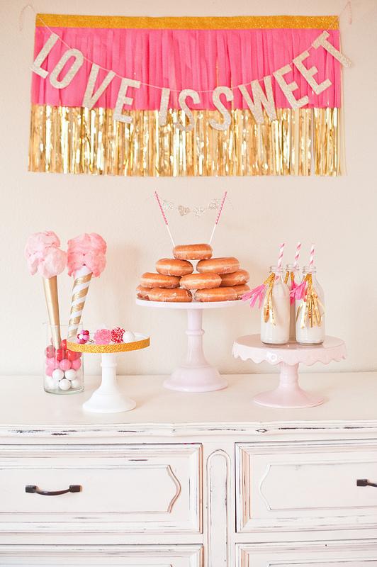 Love is sweet wedding shower ideas