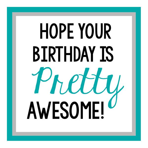 Makeup Gifts Birthday Tag