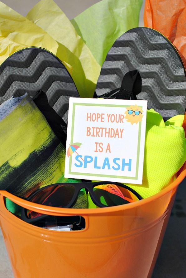 Summer Birthday Gift Idea