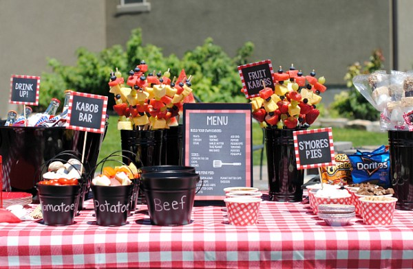 Outdoor BBQ Party Ideas