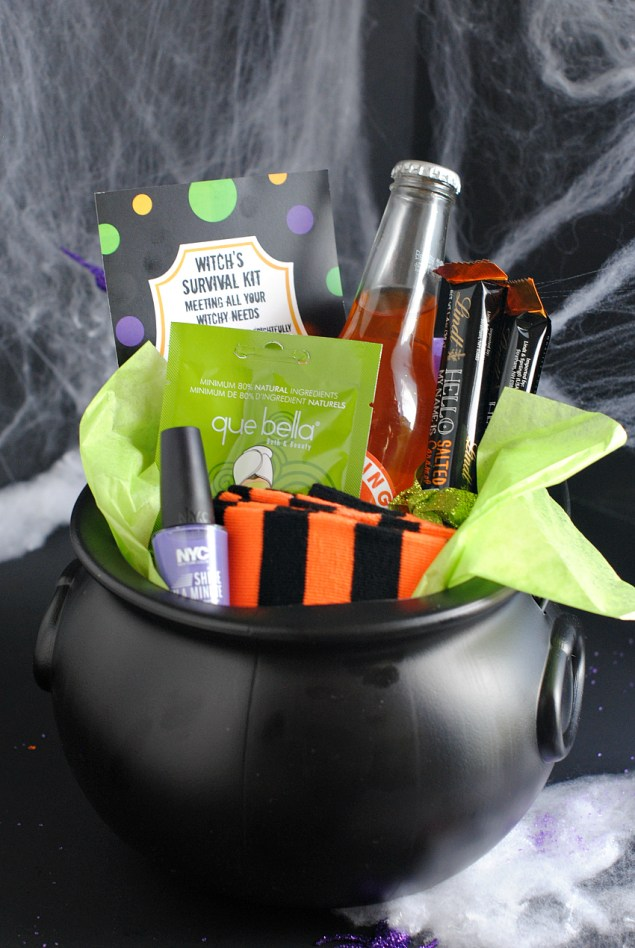 Halloween Gifts: A Fun Witch's Survival Kit