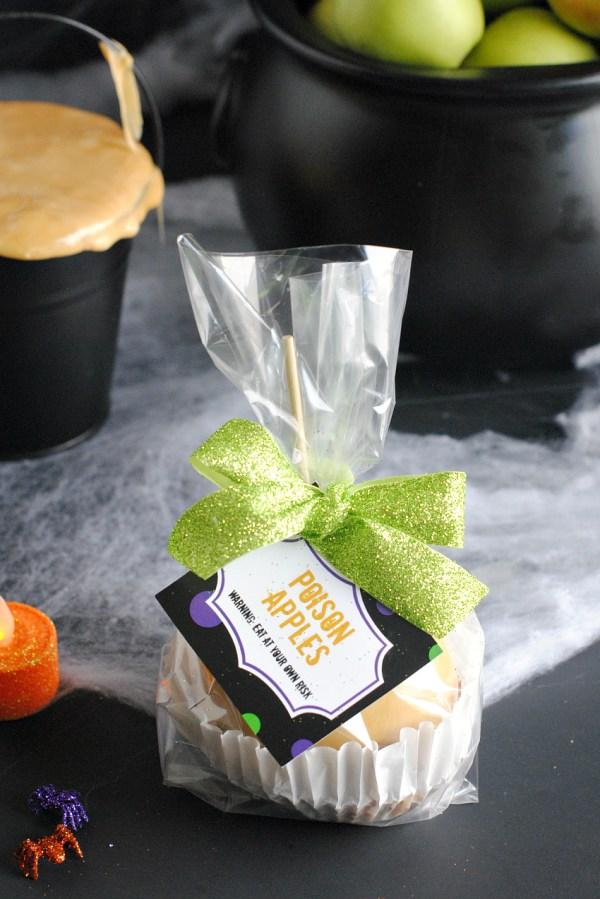 Caramel Apple Gift for Halloween