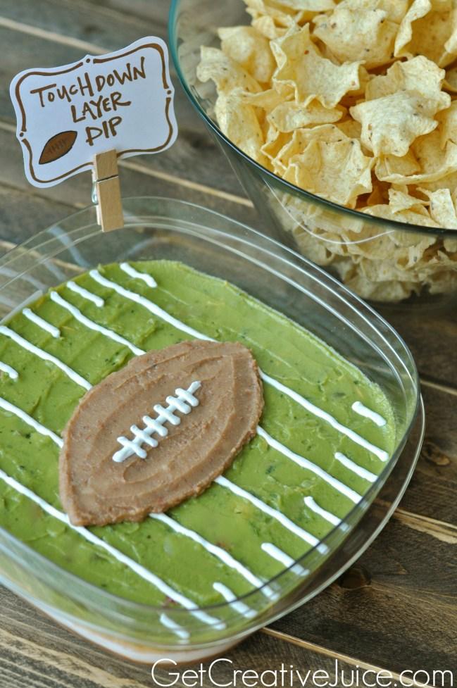 super-bowl-football-party-layered-dip-idea