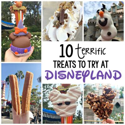 Disneyland treats