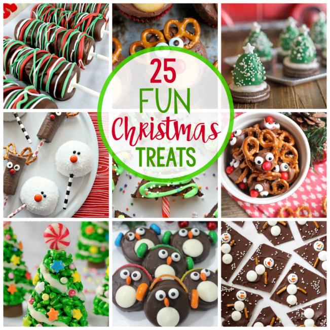 25 Fun Christmas Treat Ideas