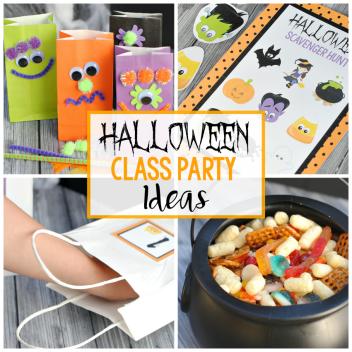 Halloween Class Party Ideas