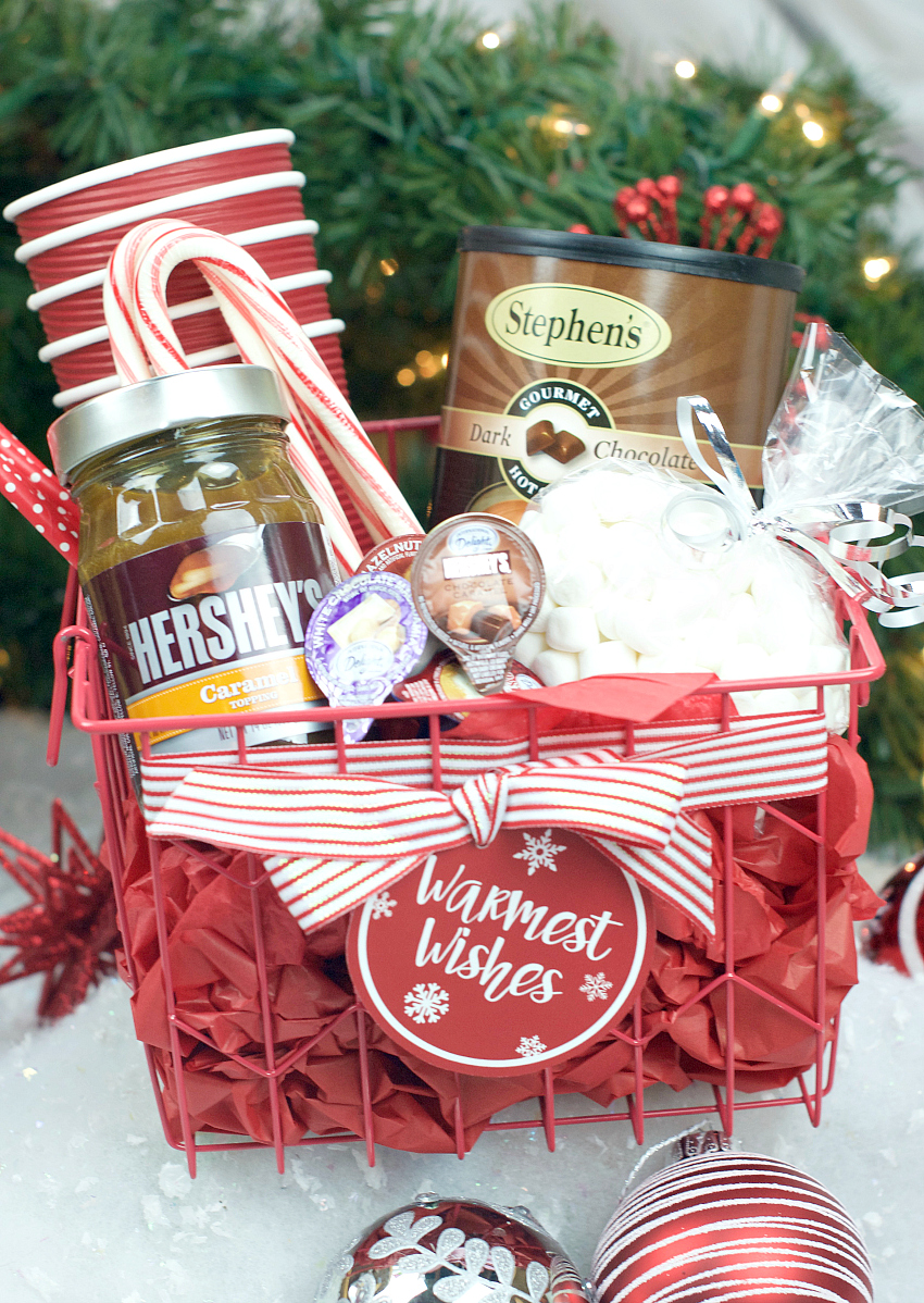 Hot Chocolate Gift Basket – Fun Squared