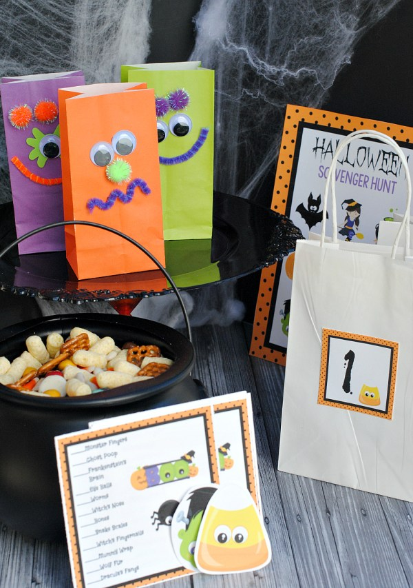 Easy Kids Halloween Class Party Ideas-Games, Crafts, Snacks and more