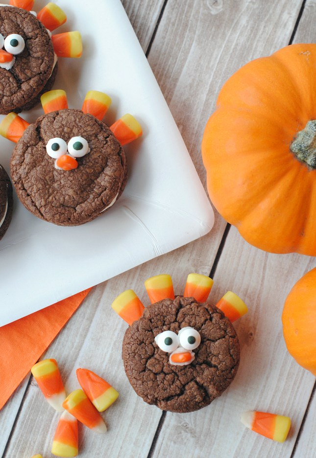 Easy Turkey Cookies for Kids